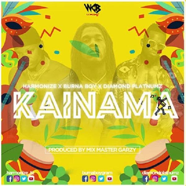 Harmonize ft. Burna Boy & Diamond Platnumz - Kainama Mp3 Audio